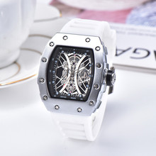 top brand silicone man Chronograph Mens Watches Luxury Top B