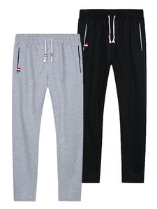 Trousers Track-Pants Gym-Clothing Elastic-Waist Men Joggers Fitness Black Sport Baggy