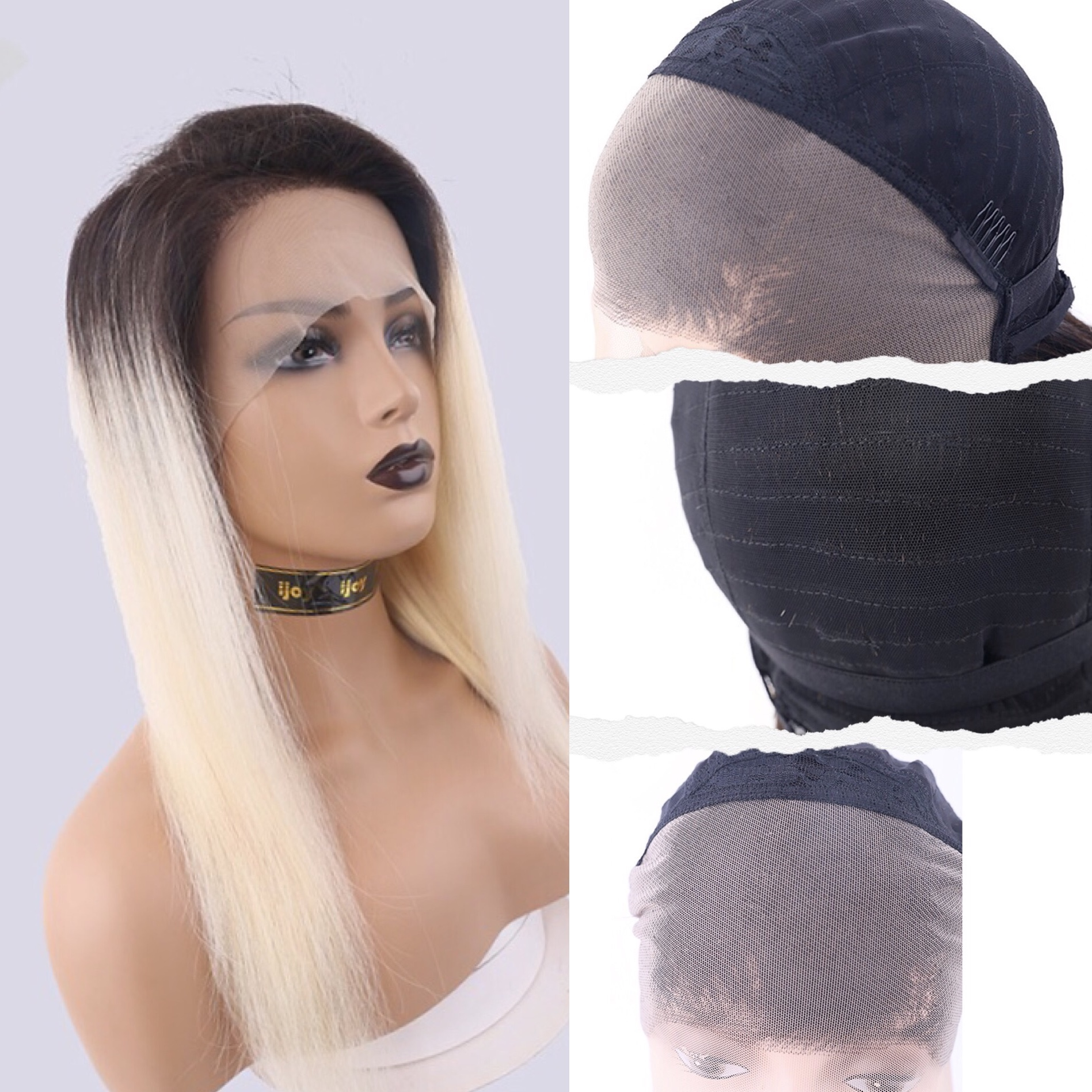 Human Hair Wigs Straight 13×4 Lace Front 18