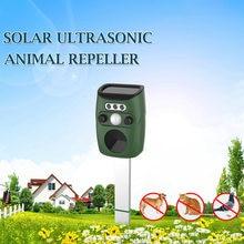 Сверхзвуковой отпугиватель на солнечных батареях животных мышь