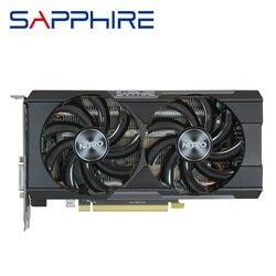 SAFIRA R9 370 4GB Placas De Vídeo GPU AMD Radeon R9 370X R9370 R9370X Placas Gráficas Tela Video Game PC Desktop Computador Mapa