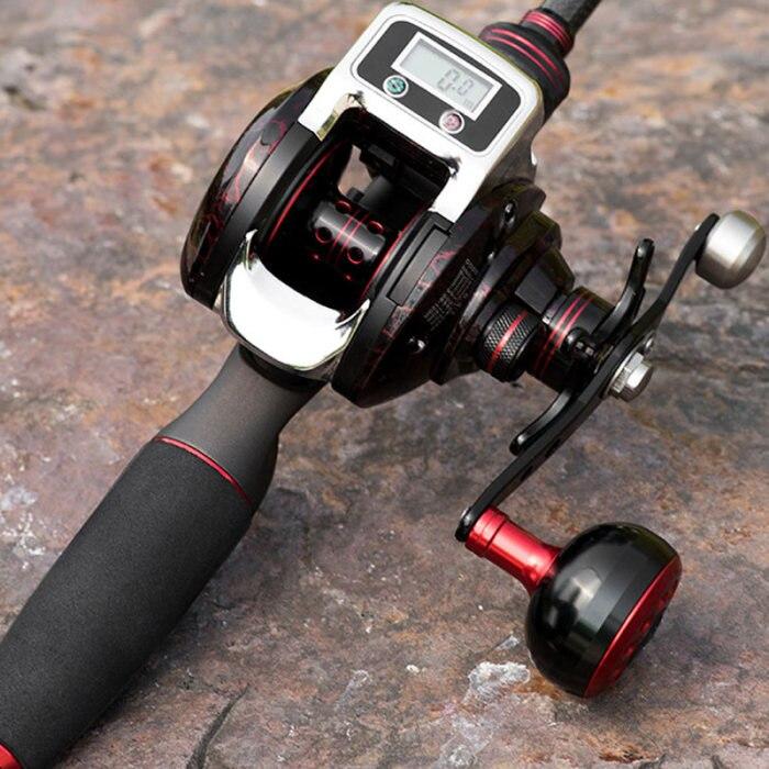 Rotação carretel de pesca roda peixe display