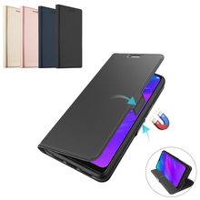 for Oppo Realme 3 5 Pro Case Leather Wal