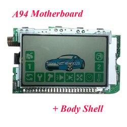 A94 LCD Điều Khiển Từ Xa + Tặng Ốp Lưng Dẻo Silicon Dành Cho Starline A94 Xe Hệ Thống Báo Động