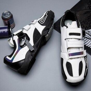 Zapatos de Ciclismo para Hombre, deporte al aire libre, triatlón, profesional, MTB,...