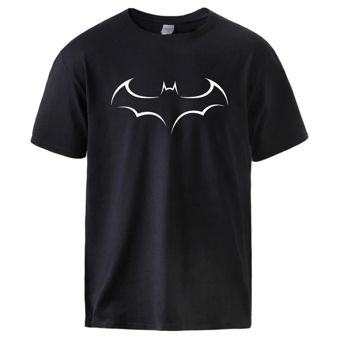 Man Movie Batman Print T Shirts 2020 Summer Spring Cotton T Shirts Mens Casual Short Sleeve Pullover Sportswear Hip Hop Tees