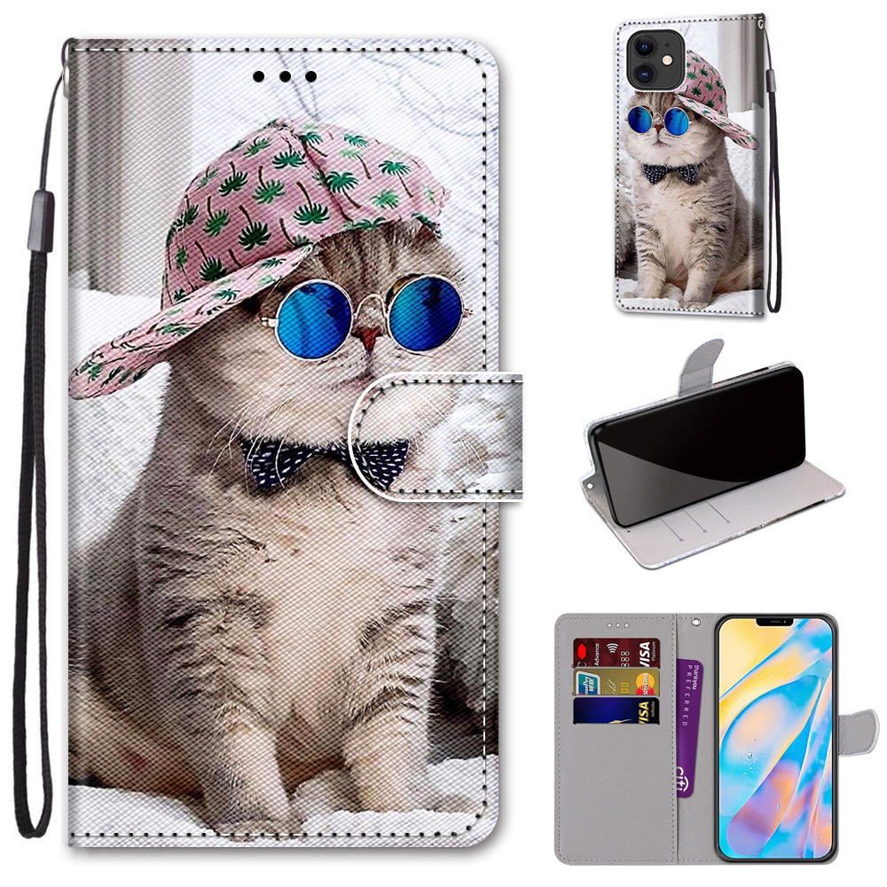 Cute Cat Animal Pattern Phone Case For Samsung Galaxy Note 10 20 S30 S20 S21 S10 S20 S10 S9 Plus Ultra S10E S8 S7 S6 S5 J4 J6 J2