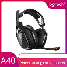 Logitech A40 TR Headset Gaming Earphones Headphones with Mic