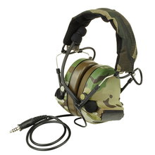 modiker Z-TAC ZComtac II Headset Waterproof Tactical Headset Noise Reduction Tactical Headphones Microphone - Z041 Olive Drab