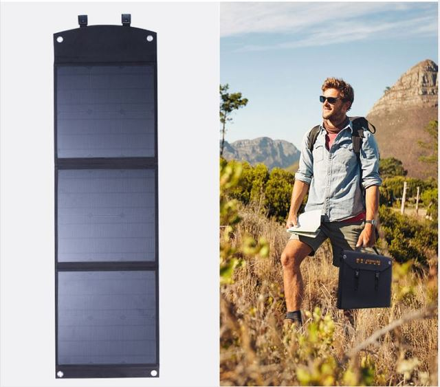 50/100/160W Foldable Portable High Power Solar Charger Photovoltaic PV Power Generation Panels Outdoor Camping Hiking Essential 1