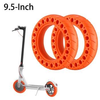 Neumático de goma para patinete eléctrico, amortiguador para Xiaomi M365