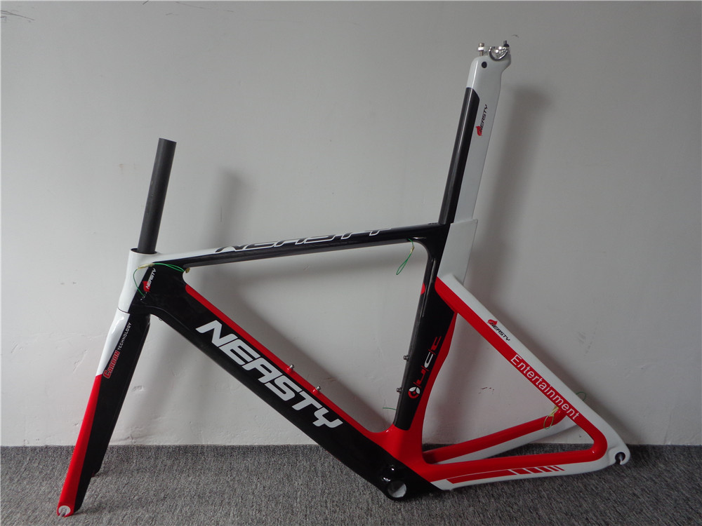 Road Bike Frame Carbon Great Quality Time-Trial Triathlon Cycle Frame TT Carbon Frame Taiwan Factory