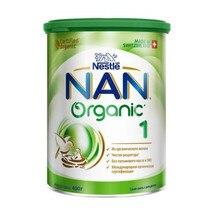 Сухая адаптированная молочная смесь NAN® 1 Organic для детей, с рождения, 400 г