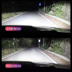 EMC автомобильные лампы для передних фар led H11 H4 H7 H1 H3 9005 HB3 9006 HB4 9012 HIR2 H8 H9 авто фары помощи при парковке светодионая лампа h11 6500K 12V