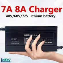 Зарядное устройство для литиевых аккумуляторов 7A, 8A, 13S, 54,6 в, 14S, 58,8 в, 16S, 58,4 в, 67,2 в, 17S, 71,4 в, 20S, 73 в, 84 в, 48 В, 60 в, 72 в