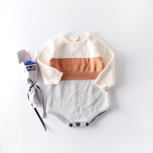 Image 2 - طفل خليط منقوشة الكروشيه محبوك سترة السروال القصير جديد خمر الأزياء الغربية الخريف الطفل الاطفال سروال قصير للأطفال الرضع 0.8 كجم #38