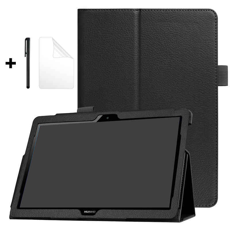 Case For Huawei MediaPad T3 10 AGS-L09/W09/L03 Honor Play Pad 2 T3 9.6 Tablet Funda Stand PU Leather Cover For Huawei T3 10 Case