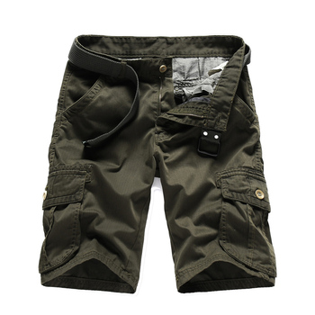 Men Shorts Running Cargo Overalls Bermuda Summer Clothing Casual Cotton Fitness Jogger Plus Size Big Size Mens Short Pants large waist mens cargo shorts plus size bermuda jeans shorts cotton men summer shorts breeches denim shorts male big size 46