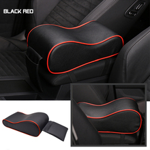 New Microfiber Leather Car Armrest Pad Cover Universal Auto Center Console Arm Rest Seat Box Protective Styling