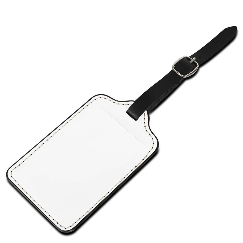 Nopersonality Custom Image Luggage Tag Leather Travel Accessories Suitcase ID Address Holder Baggage Boarding Tag Portable Label