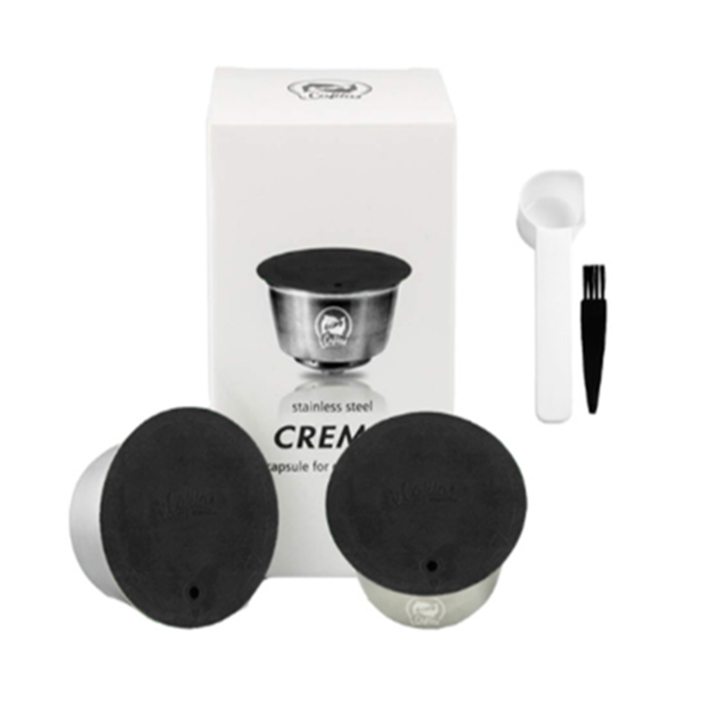 Belr-housewares For All Dolce Gusto Models Reusable Coffee Capsule Crema Dripper Coffee Filter Cup Kapsu Ki Do Kawy