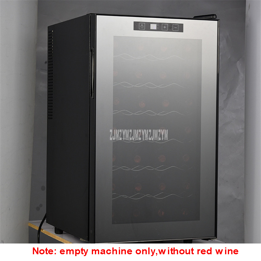 7 Layer 68L Electric Red Wine Cabinet Constant Temperature Stainless Steel Commercial Ice Bar Mini Wine Refrigerator TL-68