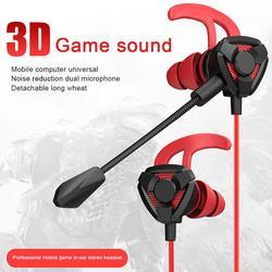 Игровые проводные наушники 3,5 мм, Φ с микрофоном, наушники для PS4, PUBG, регулятор громкости, 3,5 мм, 3D стереонаушники для телефона