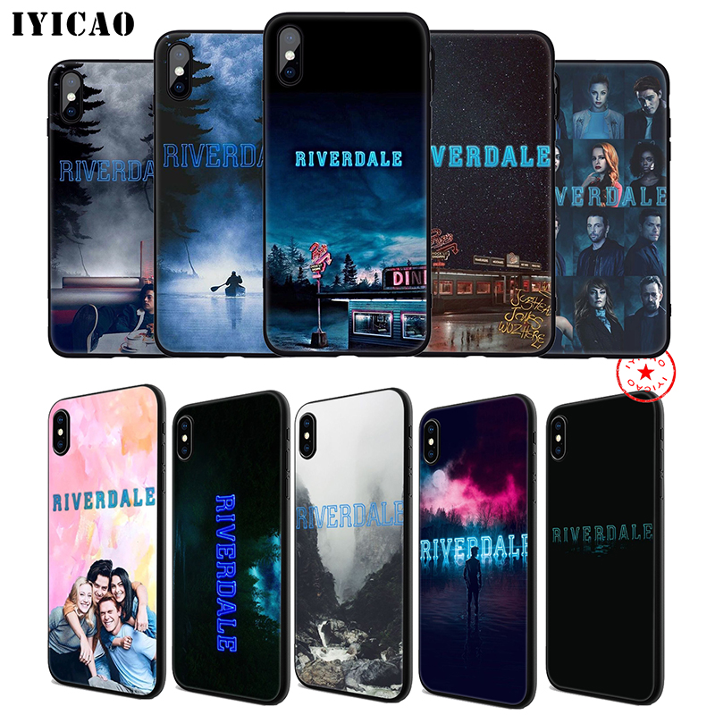 IYICAO Riverdale Soft Phone Case for iPhone 11 Pro XR X XS Max 6 6S 7 8 Plus 5 5S SE Silicone TPU