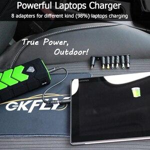 Image 3 - High Power 20000mAh Starting Device 12V Car Jump Starter Power Bank Petrol Diesel Car Charger For Car Battery Booster LED
