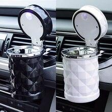 Accessori per auto posacenere portatile a LED per auto posacenere universale per sigarette Car Styling