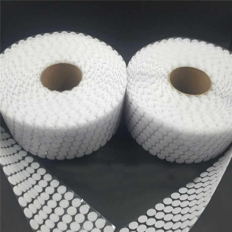 100Pairs dot stickers magic tape nylon hook and loop tape flex glue on self adhesive boob tape