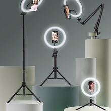 Light Photography Support-Tripod-Stand Rim-Of-Lamp Mobile-Holder Selfie-Ring Led Live-Video-Streaming