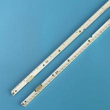 Yeni kiti 2 adet 56LED 500mm LED arka ışık şeridi Samsung UA40ES6100J UE40ES5500 2012SVS40 7032NNB RIGHT56 LEFT56 2D paneli