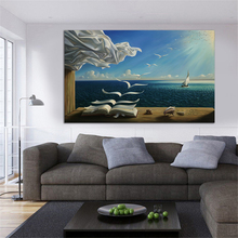 Famous Printed Canvas Paintings Single Panel Living Room Home Decor Prints Art Dropshipping Posters
