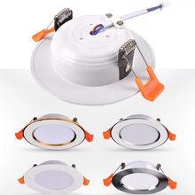 LED Downlight 220V Spot LED downlight Dimmable 5W 7W 9W 12W 15W Recessed in LED Ceiling Downlight Light Cold Warm white Lamp