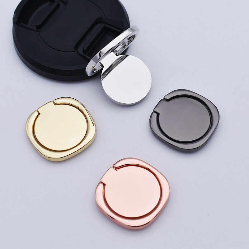Mobiele Telefoon Beugel Volledige Metalen Ring Gesp 360 Graden Rotatie Universele Ring Beugel Mobiele Telefoon Houders & Stands
