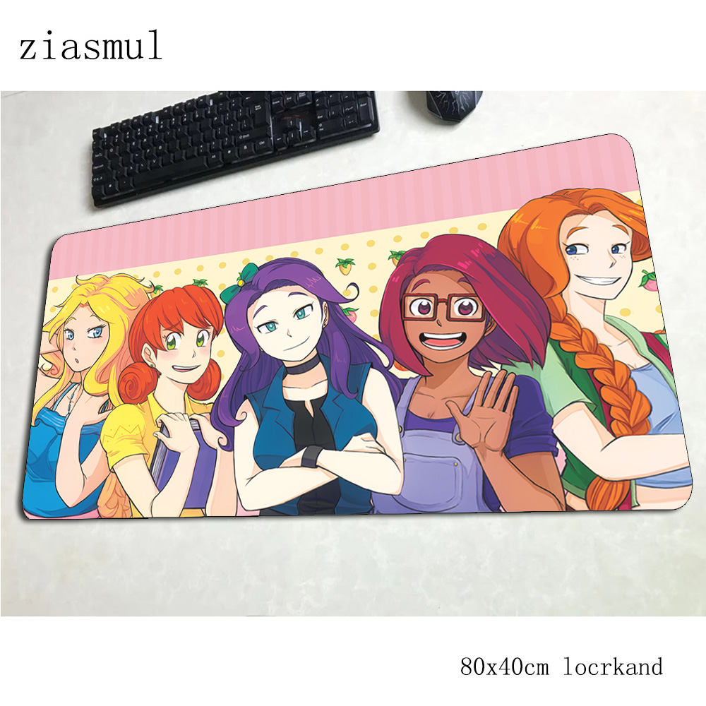 stardew valley mousepad 80x40cm Halloween Gift Computer mouse mat gamer gamepad Fashion gaming mousemat desk pad office padmouse image