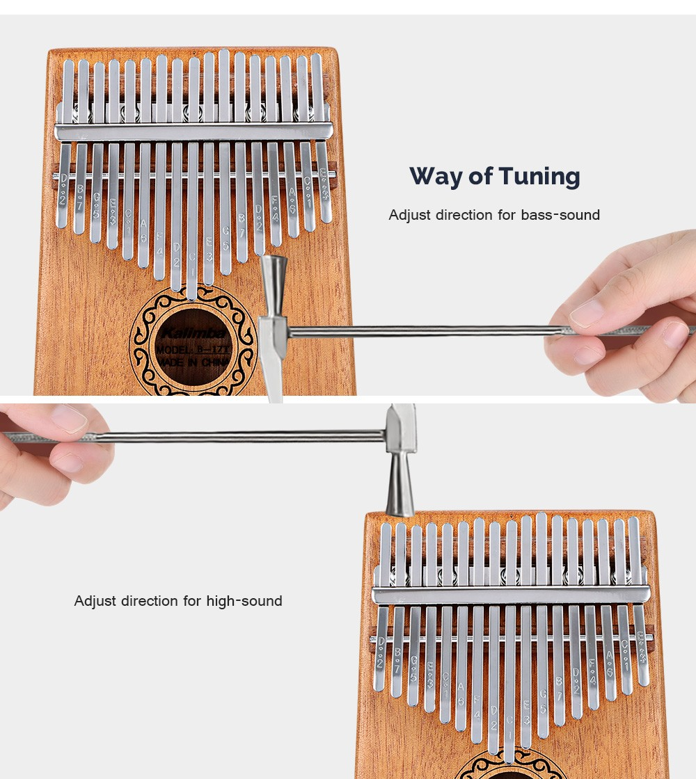 17-tone Kalimba Thumb Piano