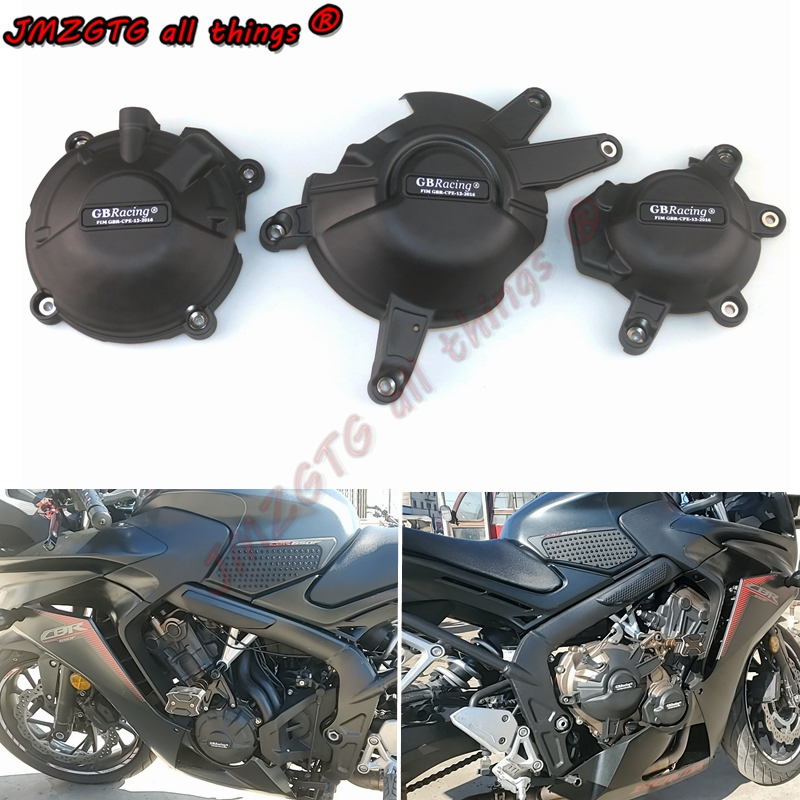 Motorcycles Engine Cover Protection Case For Case GB Racing For HONDA CBR650F CB650F CBR650R CB650R Engine Covers Protectors