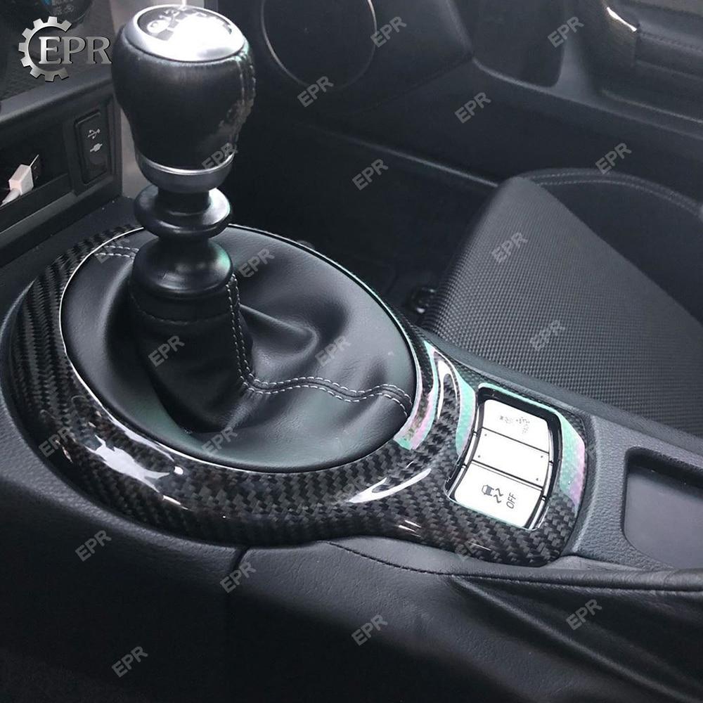 Ajuste Interior de carbono para BRZ FT86 GT86 engranaje de fibra de carbono envolvente (RHD) Kit de ajuste para FT86 BRZ Racing