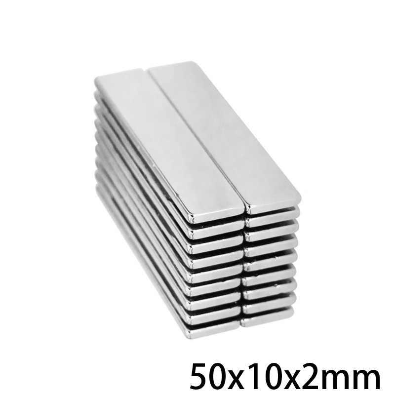 Paquete De 5 Imanes De Neodimio Bloque Grande 25x12x5 N38 25mm X 12mm X 5mm Neodym 7kg