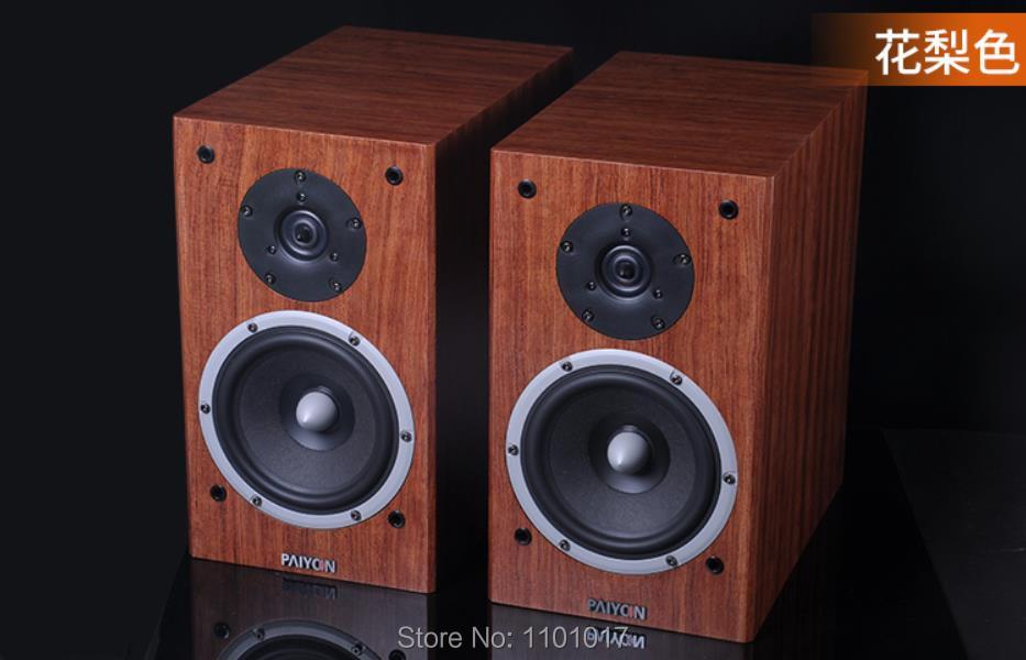 PAIYON P2S Bookshelf Speakers HIFI EXQUIS Tymphany Peerless VIFA XT25TG30 unit speaker 2