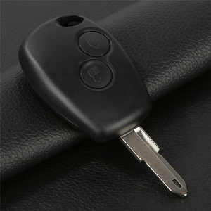Image 5 - Автомобильный Дистанционный ключ защитный чехол для RENAULT Clio DACIA Logan Sandero БЕСКЛЮЧЕВОЙ ключ Fob чехол Замена 2 Bin 350B