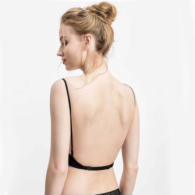 new 2020 Sexy Bralette evening Dress Open-Back  Women's Top hanging neck  backless Underwear Beautiful Bra