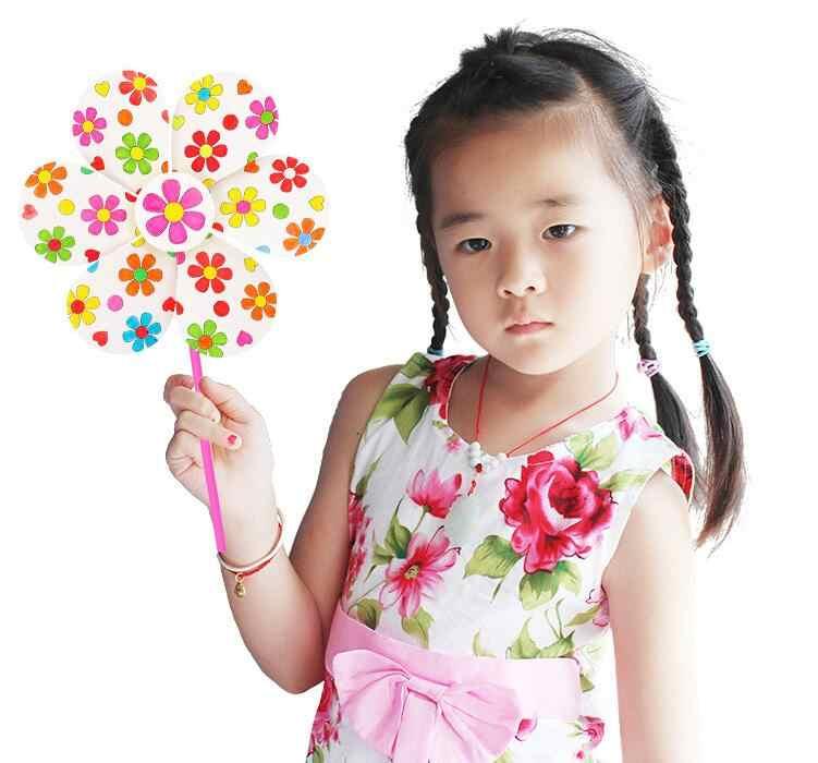 1Pc Pintura DIY Em Branco Grafite Windmilln Brinquedos para Crianças Dos Miúdos Dos Ofícios de Aprendizagem Brinquedos Educativos Auxiliares de Ensino Montessori Brinquedo GYH