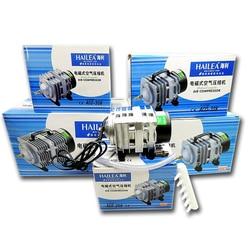 Hailea 220v Air Compressor for Aquarium Accessories 70L/MIN Electromagnetic Pump Fish Tank Accessories Aerator for Aquarium Pet