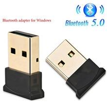 Usb sem fio bluetooth adaptador 5.0 para computador bluetooth dongle usb 5.0 pc adaptador bluetooth receptor transmissor