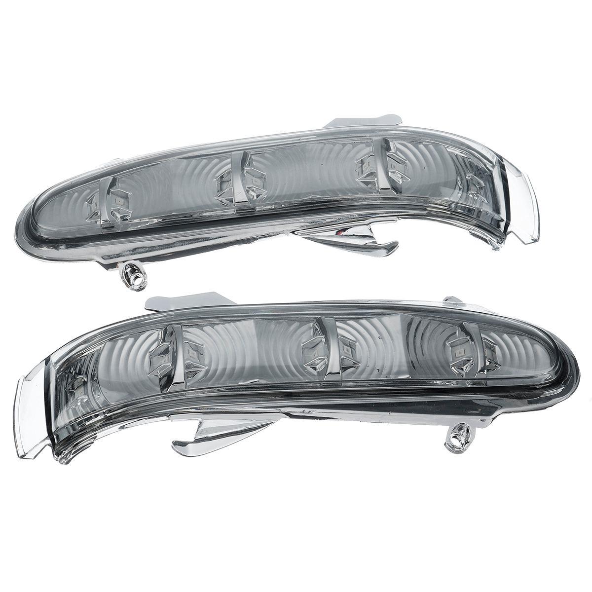 RETYLY Indicador de Espejo Retrovisor de Luz Intermitente de 1 Par para Mercedes W220 Clase S 1999-2002 W215 Clase CL 1999-2003