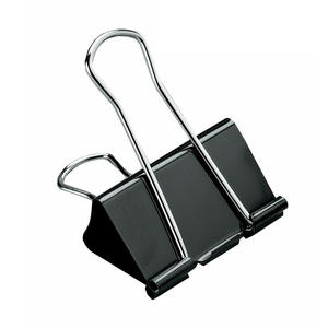 Foldback-Clips Grip-Clip Binder Metal Office-Supplies Culture Creative 50 41-30 25-19-Mm-Size