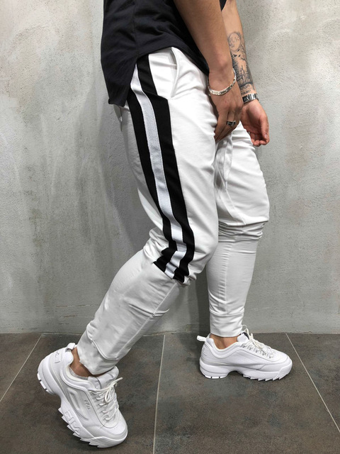 Tether Rope Color Matching Feet Trousers 8